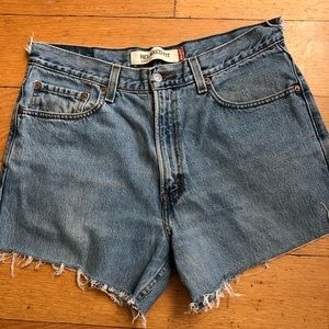 Levi's relaxed fit jean shorts.